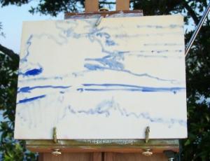Marsh Painting 1