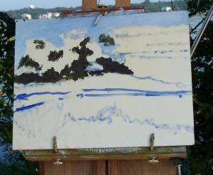 Marsh Painting 3