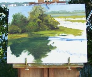 Marsh Painting 6