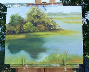Marsh Painting 8