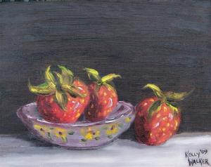 Strawberry Bowl (Small)