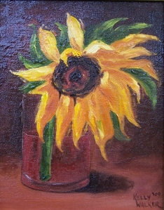 A Sunflower for Carol Ann