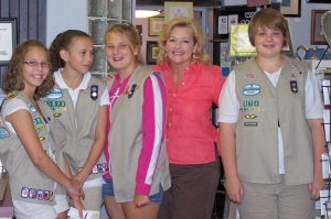 Girl Scouts at Delilahs 2