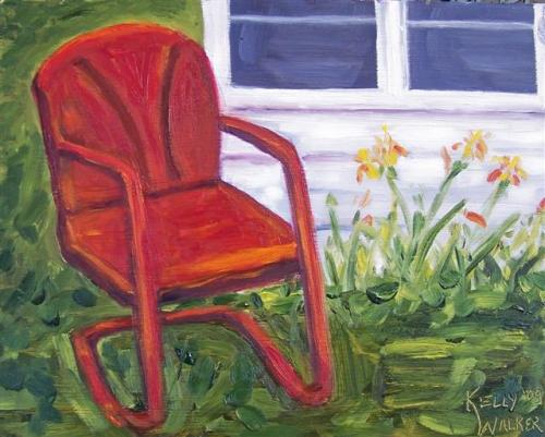 Red Chair Finished (Small)