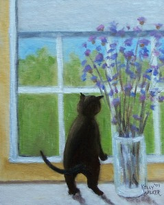 Cat in Window Lesson 3