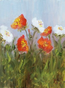 Impressionists Poppies II