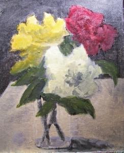 Roses Tonal Study 2