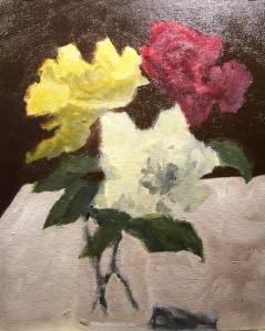 Roses Tonal Study 3
