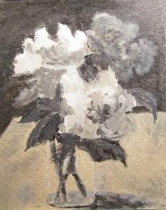 Roses Tonal Study