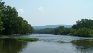 Shenandoah River from the Low Water Bridge