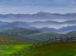 Fog Across the Valley
