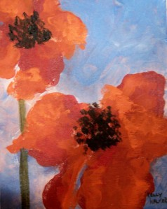 Isabella's Poppies by Kelly