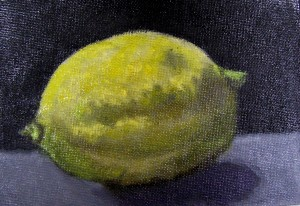 Lemon glazed painting