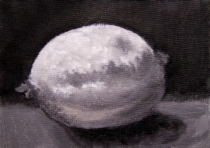 Lemon underpainting