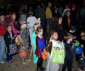 Halloween And the line got longer