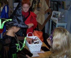 Halloween Fortune Teller reward the patient witch with a treat