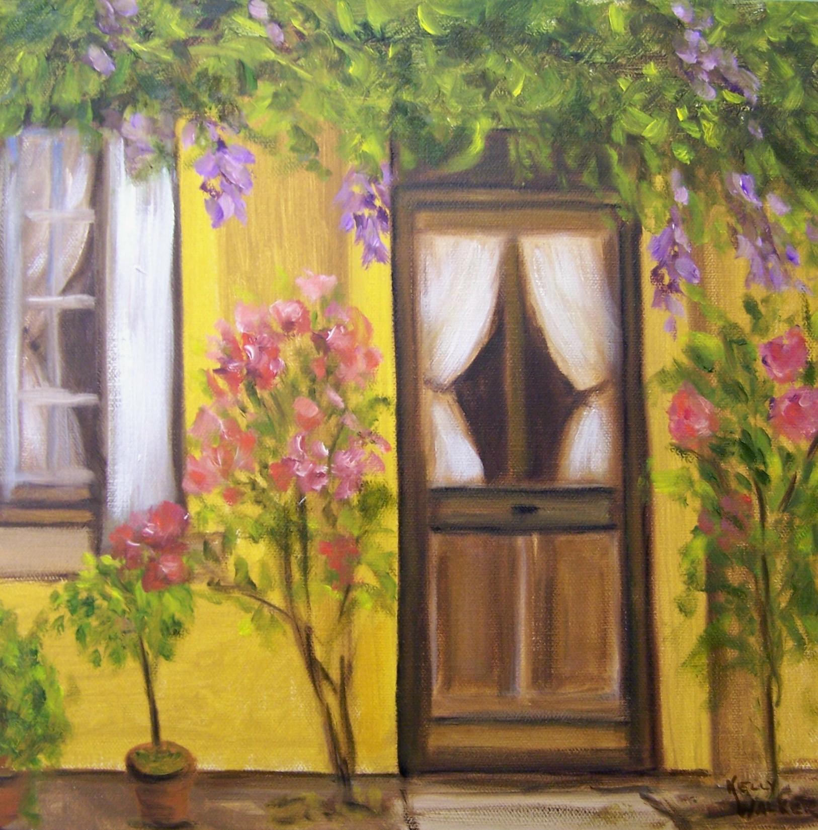 Flowers ... & Flowers by the Door IV | \