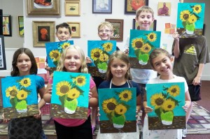 Art Camp Week 5 Van Gogh