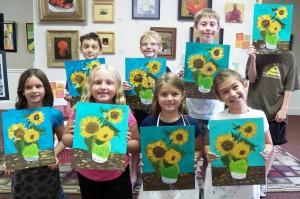 Art Camp Week 5 Van Gogh