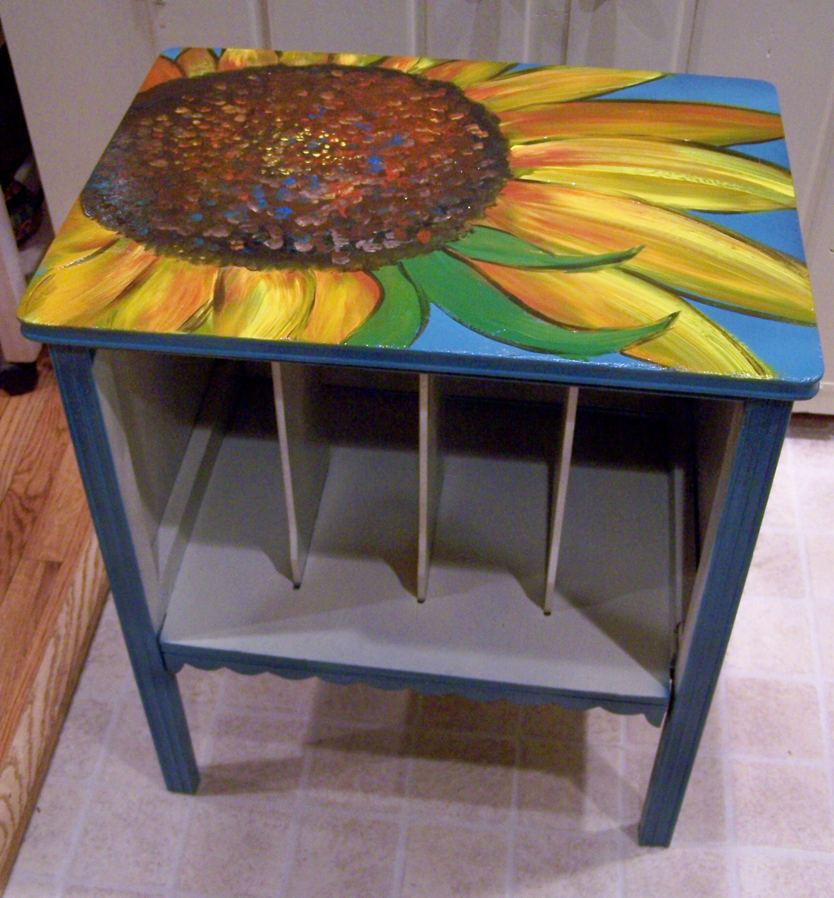 Sunflower Cabinet And Poppy Coffee Table Life Of A