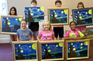 Van Gogh's Starry Night by Art Campers