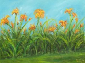 Day Lilies - My Impression 2