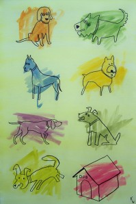Coloring Book Dogs