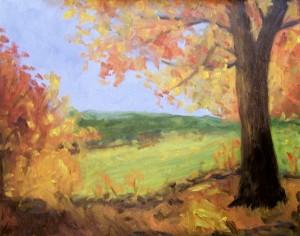 Fall Festival Demo Painting I