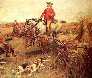 Washington on Hunt