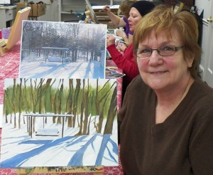 Jan's Backyard Painting