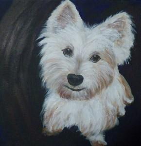 Mamie Painting 2