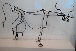 The Calder Cow - Boston Museum of Fine Art