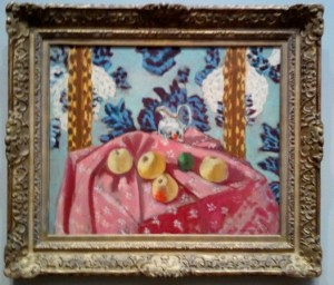 Henri Matisse, Still Life with Apples on a Pink Tablecloth, oil on canvas, 1924
