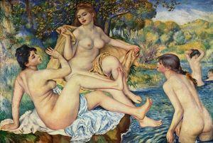 Renoir's, The Large Bathers, 1887, Philadelphia Museum of Art
