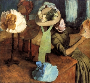 Degas' Millinery Shop