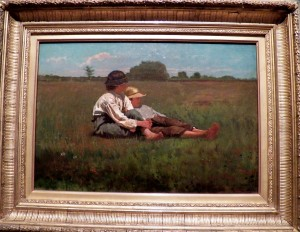 Boys in a Pasture, 1874, Winslow Homer, Boston Museum of Fine Art