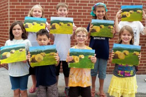 Art Camp Week 5 Hay Landscape
