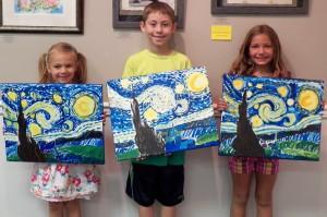Art Camp Week1 Day Five Van Gogh