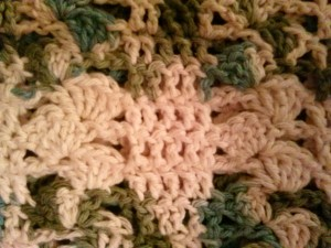 Free Crochet Pattern for Lap Throw in Cotton