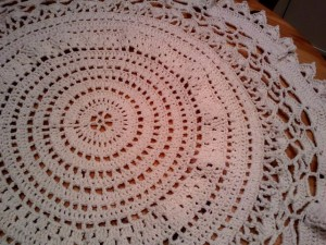 Mamie's Tablecloth - A Free Pattern