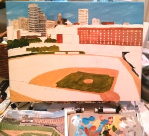 Camden Yards in the making