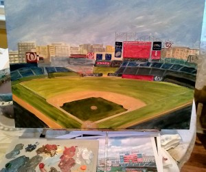 nationals park painting
