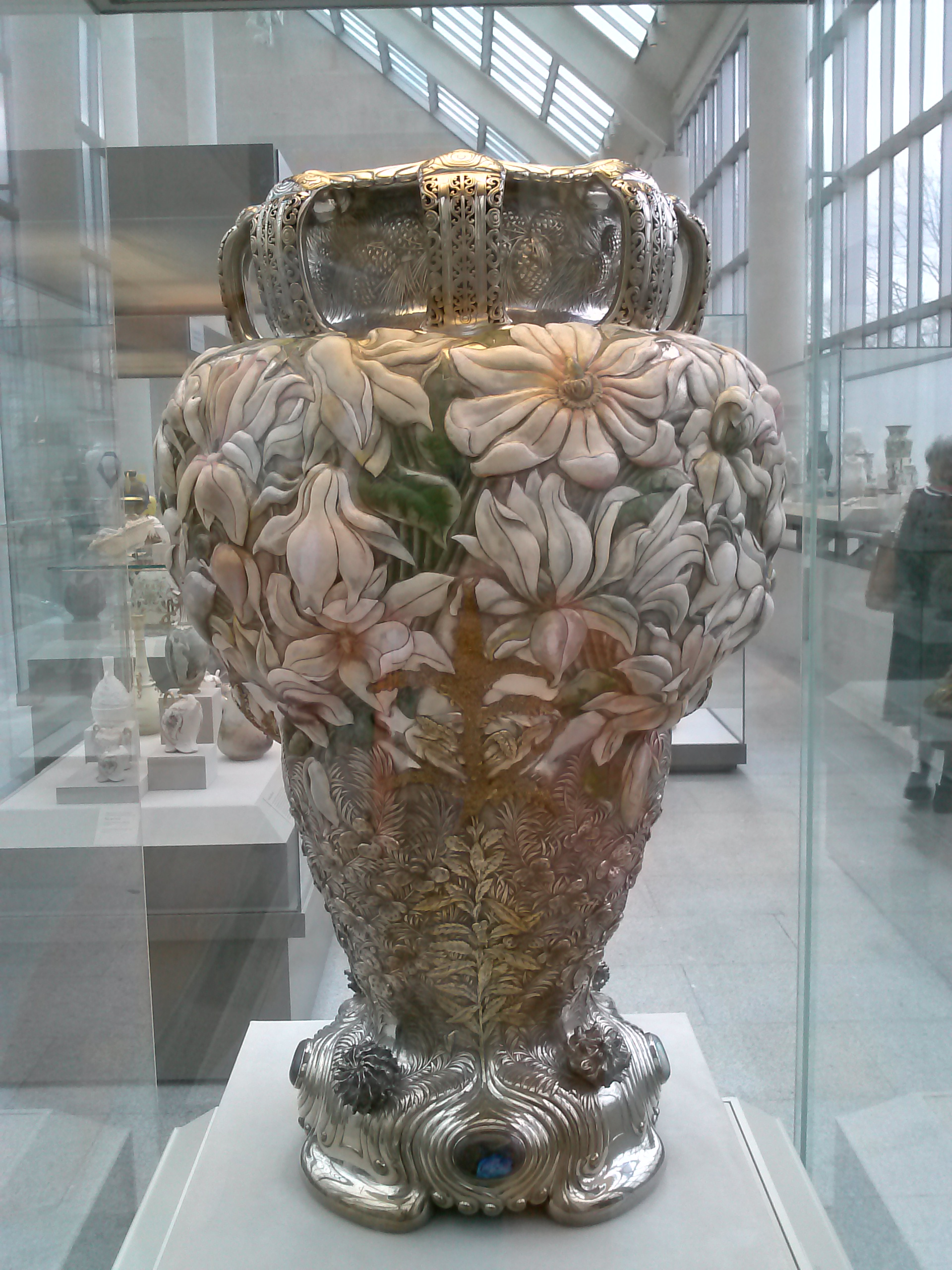 Tiffany co magnolia vase a place for learning magnolia vase tiffany co ca 1893 metropolitan museum of art reviewsmspy