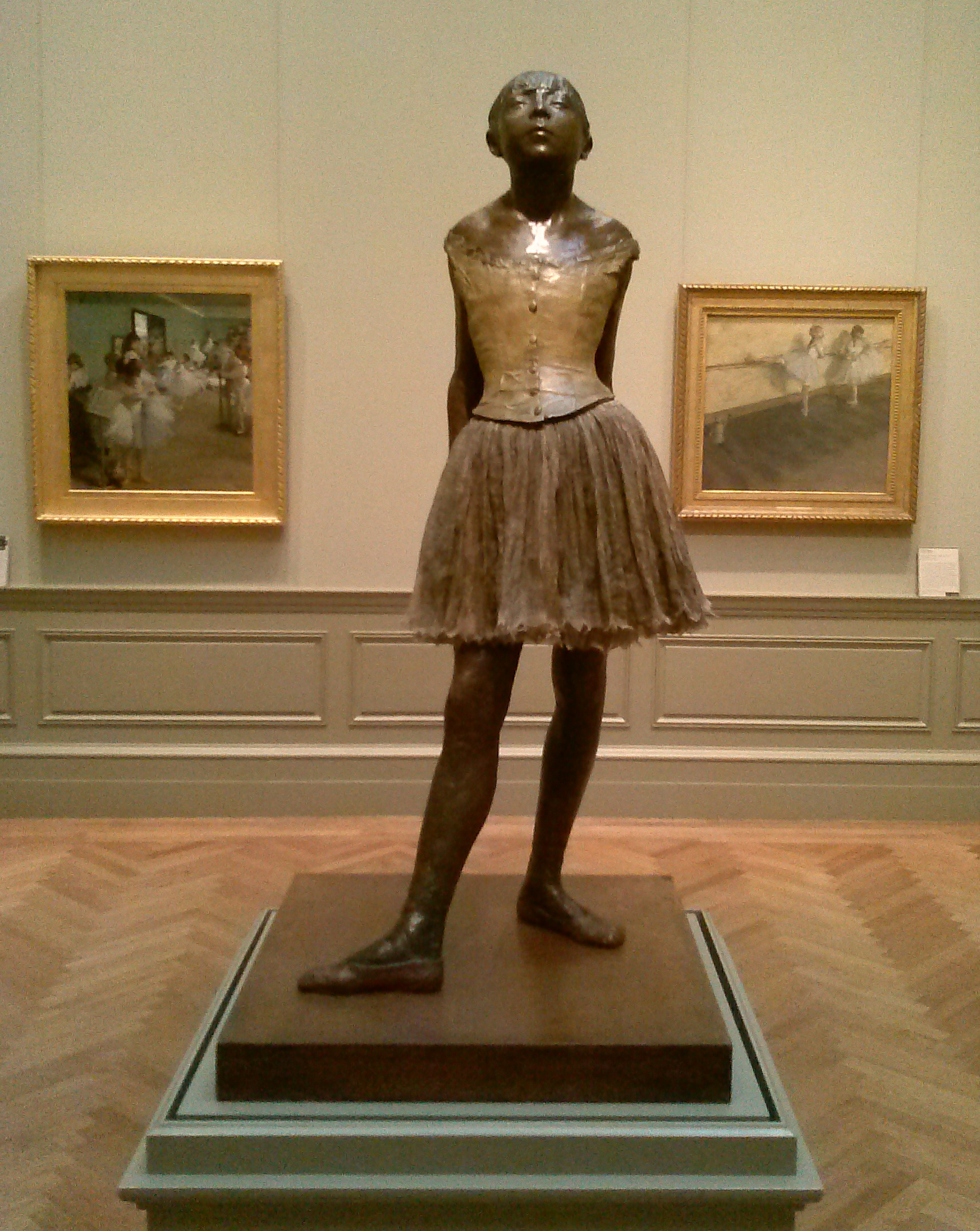 degas ballerina sculpture - HD 1709×2147