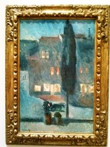 Cypress in Moonlight Edvard Munch