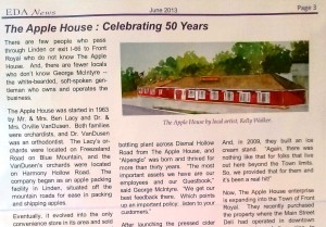 Apple House article 1