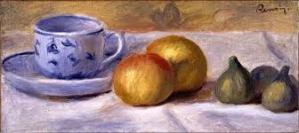 Renoir's Blue Cup