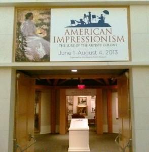 MSV Impressionist Exhibit