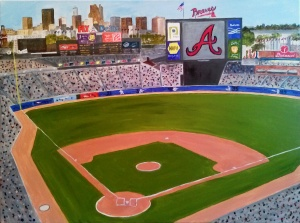 Turner Field Atlanta Braves
