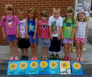 Art Camp Ages 5-7 July 1